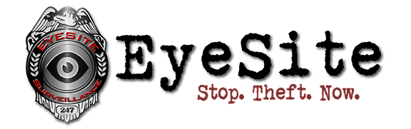 Eyesite logo, construction site surveillance